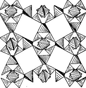 Борацит кристаллическая структура