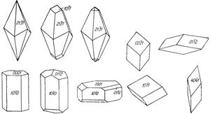 Кальцит , минерал кальцита