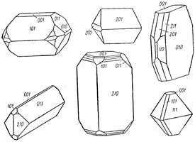 Англезит , минерал ангезита