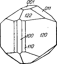 Кристалл датолита , датолит