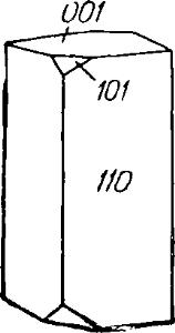 Кристалл андалузита