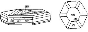 Габитус кристаллов графита