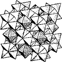 Пирротин Структура пентландита