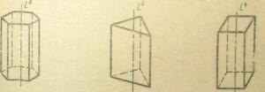 Гексагональная, Тригональная, Тетрагональная