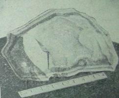 Натечная форма агатового кремня, разновидности халцедона