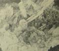 Друза кристаллов горного хрусталя