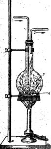 Взаимодействие серы с водородом