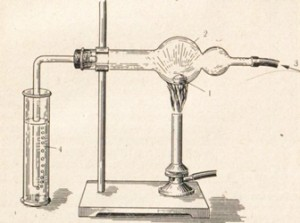 Горение натрия в хлоре