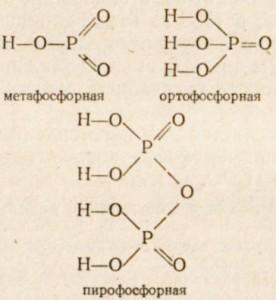 Фосфорные кислоты