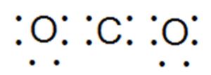 ковалентная связь в молекуле двуокиси углерода