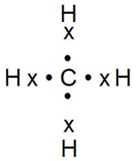 ковалентная связь в молекуле метана
