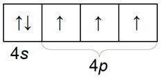 Распределение электронов по орбиталям