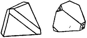 Формы кристалловтетраэдрита