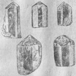 Натуральные кристаллы апатита