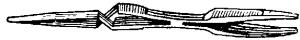 Пинцет для работы с паяльной трубкой