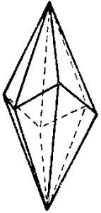 Скаленоэдр кальцита