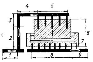 Ошиновка с односторонним токоподводом для электролизера