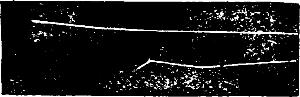 Фотография пути двух α-частиц