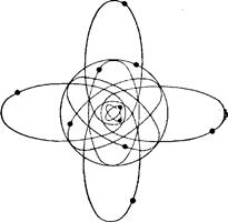 Схема строения атома натрия