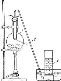 Прибор для демонстрации диссоциации воды