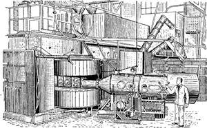 Общий вид циклотрона