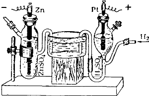 Прибор для измерения нормального потенциала металла