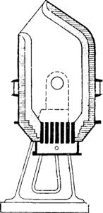 Схематический разрез конвертора