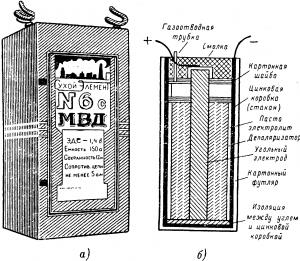 Марганцово-цинковый элемент