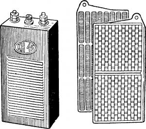 Щелочной аккумулятор