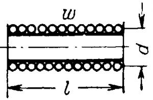 Цилиндрическая катушка