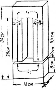 Расчет магнитной цепи