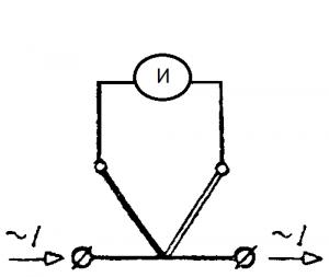 Термоэлектрический амперметр