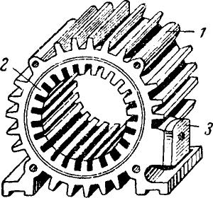 Статор асинхронного двигателя без обмотки