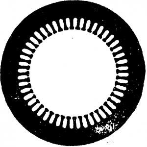 Стальной лист статора