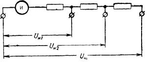 Вольтметр с многопредельным добавочным сопротивлением