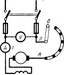 Электродвигатель с последовательным возбуждением