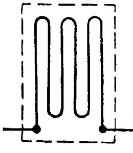 Схема проволочного преобразователя