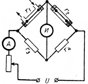 Схема газоанализатора СО2