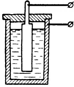 Принцип устройства емкостного преобразователя влагомера