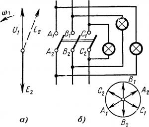 Включение однофазных генераторов на параллельную работу