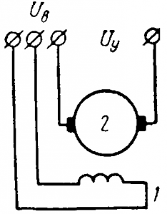 Исполнительный двигатель постоянного тока