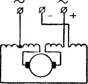 Универсальный коллекторный двигатель