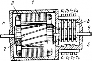 Поворотный трансформатор
