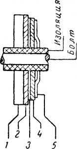 Схема устройства селенового вентиля