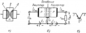 Транзисторы полупроводниковые усилители