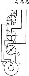 Включение асинхронного двигателя при помощи пакетного выключателя