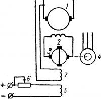 Регулирование напряжения генератора при помощи ЭМУ
