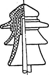 Штыревой изолятор на напряжение 35кв