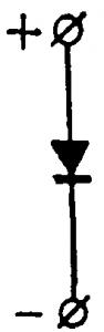 Условное изображение вентиля
