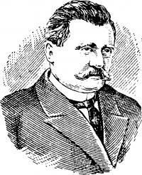 А. Н. Лодыгин (1847—1923).